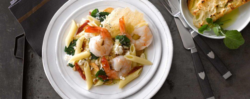 Shrimp & Spinach Aglio Olio